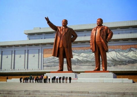 Monuments in North Korea